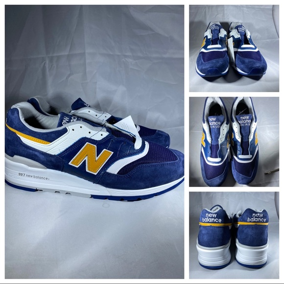 New Balance Made in USA 997 M997PAN Navy Sz 10 NWT